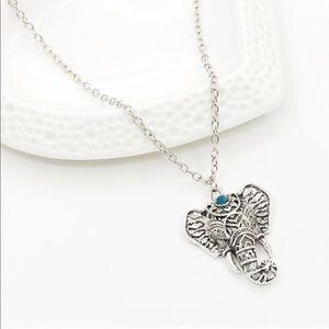 💎 Stunning Elephant Boho Bohemian Necklace